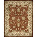 Nourison Hand Tufted Beaufort Copper Wool Rug - 7'6 x 9'6