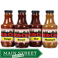 Rib City BBQ Sauces (Pack of 4)