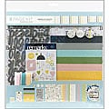 American Crafts 'Baby' 12X12 Scrapbook Page Kit