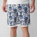 Island Joe Men's White Floral Print Swim Shorts