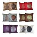 Banana or Fern Leaf Decorative Pillow