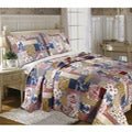 Greenland Home Fashions Garden Toile Full/Queen-size Quilt Set