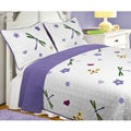 Greenland Home Fashions Mariposa Twin-size Quilt Set