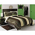 Quiksilver Syntax 8-piece Queen-size Bed in a Bag with Sheet Set