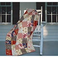 Greenland Home Fashions Amelia Quilted Throw
