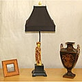 Indoor 1-light Ancient Woman Table Lamp