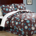 Dot Com Microfiber 8-piece Bed in a Bag with Sheet Set