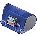 iHome Blue iHM9 Portable Translucent MP3 Stereo Speaker