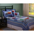 Work Zone Twin-size 2-piece Quilt Set