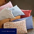 Tommy Hilfiger Printed Cotton 200 Thread Count Full/ Queen Sheet Set