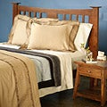 St. Croix Cotton Sateen Embroidered 3-piece Duvet Cover Set