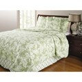 Greenland Home Fashions Mandarin Thyme 4-piece Quilt Set