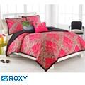 Roxy Field Floral Full/Queen-size 3-piece Quilt Set