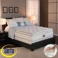 Serta Perfect Sleeper Conviction Super Pillowtop Cal King-size Mattress and Box Spring Set