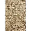 nuLOOM Beige Mosaic Rug - 5'3 x 7'7