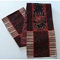 "Victorian Poinsettia Tapestry 70"" Table Runner"