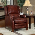 New Creations Ellison Red/ Brick Classic Recliner