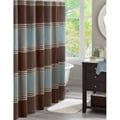 Madison Park Meridian Shower Curtain
