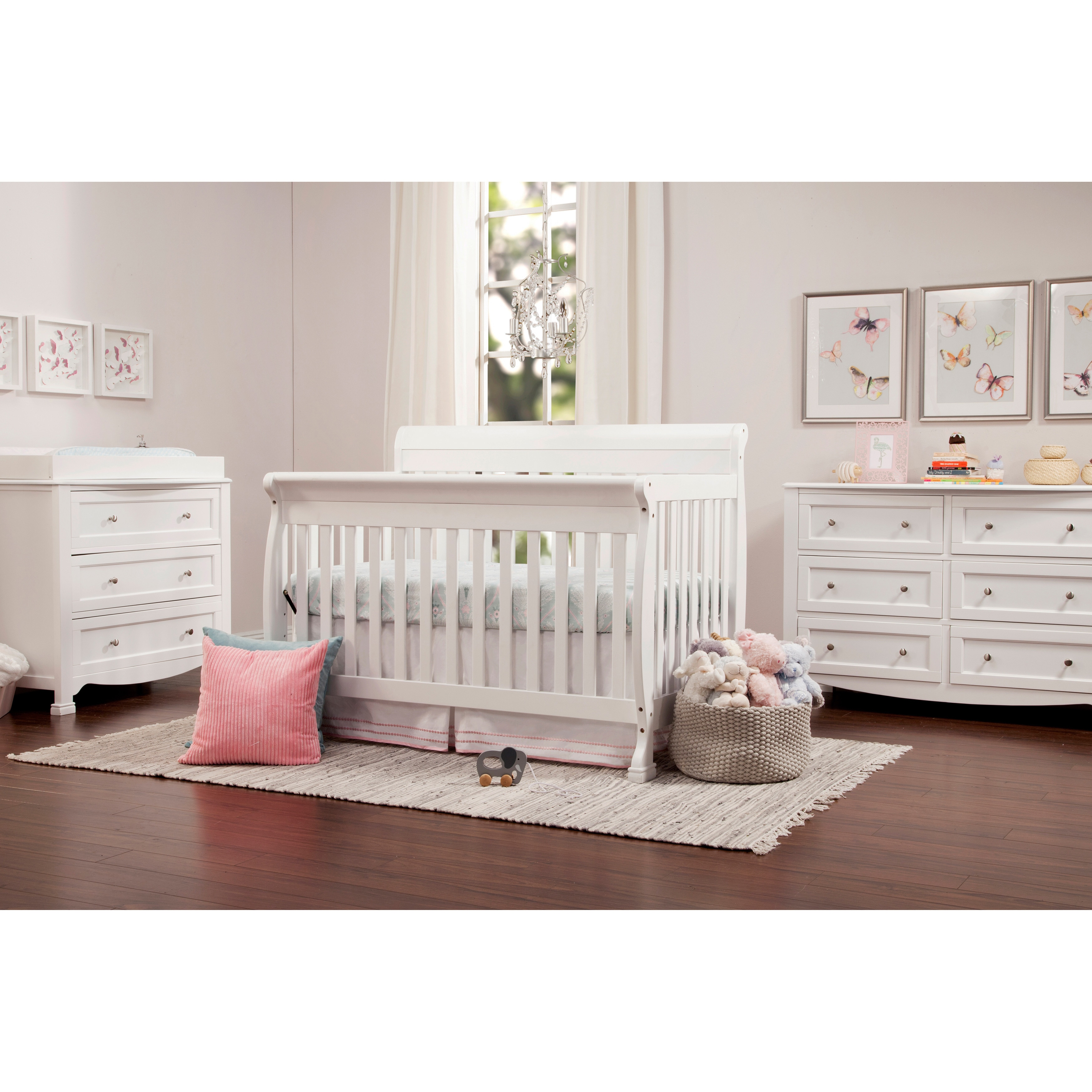 Baby bed vs bassinet - Davinci Kalani 4 In 1 Crib With Toddler Rail