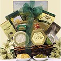 Holiday Cheese Delights:  Cheese Holiday Christmas Gift Basket