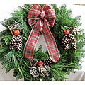 Fresh Balsam 24-inch Traditional Apple and Cinnamon Wreath