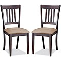 Sharon Brown Dining Chairs (Set of 2)
