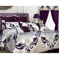 Elegance 24-piece Queen-size Bed in a Bag with Deep Pocket Sheet Set