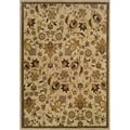 Berkley Beige/ Tan 9'10 x 12'9 Transitional Area Rug