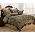 Geneva 8-piece Queen-size Comforter Set