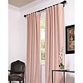 Exclusive Fabrics Signature Rose Petal Velvet Blackout 108-inch Curtain Panel