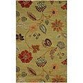 Hand Tufted Wool & Art Silk Rug (8' x 11')