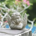 Volcanic Ash Guardian Angel Garden Accent (Indonesia)