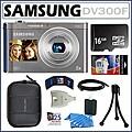 Samsung DV300F DualView 16MP Digital Camera with 16GB Kit