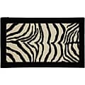 Zebra Safari Accent Rug (1'8 x 2'10)