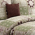 VCNY Catalina Green 5-piece Quilt Set