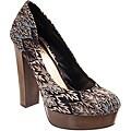 Riverberry Women's 'Zooey' Black Platform Heels