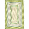 Color Market Green Accent Rug (8' x 11')