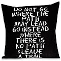 'Leave a Trail' Inspiration Rectangular Pillow