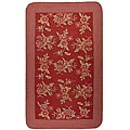 Manitou Flat-weave Floral Rug - 5' x 8'