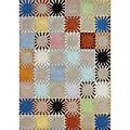 Alliyah Handmade Multicolored New Zealand Blend Wool Rug - 8' x 10'