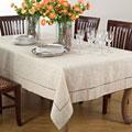 Toscana Linen Blend Tablecloth