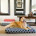 Majestic Pet Peoducts Links Orthopedic Memory Foam Rectangle Dog Bed