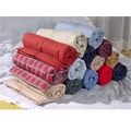 Sueded Microfiber Down Throw