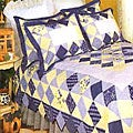 Carleton Cotton Patchwork Quilt Set