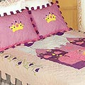 Lil Princess Cotton Patchwork Quilt Set (Twin)