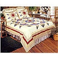 Country Star Patchwork Duvet Cover Set