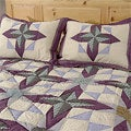 Rustic Star Patchwork Quilt Set