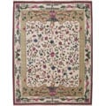 Nourison Hand-knotted Empire Ivory Wool Rug (5 x 7)