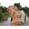 Greenland Home Fashions Taj 100-percent Cotton Quilted Throw