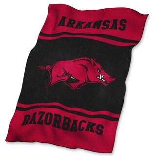 University of Arkansas Ultra Soft Throw Blanket